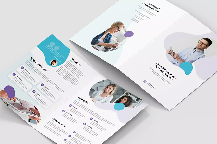 brochure and flyer design picture